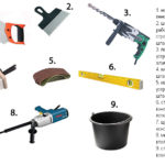 Инструменты для изготовления фундамента