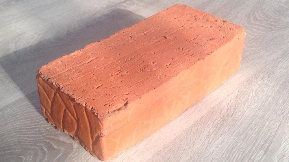 Кирпич керамический полнотелый одинарный рядовой