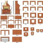 Схема кирпичного мангала