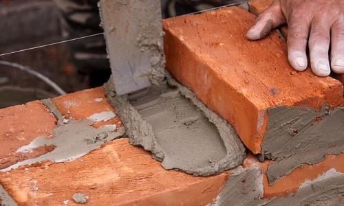 Расход цемента на кладку кирпича