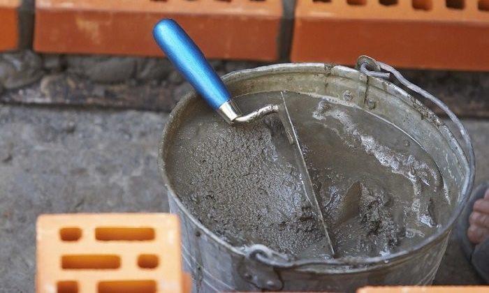 Как приготовить кладочный раствор