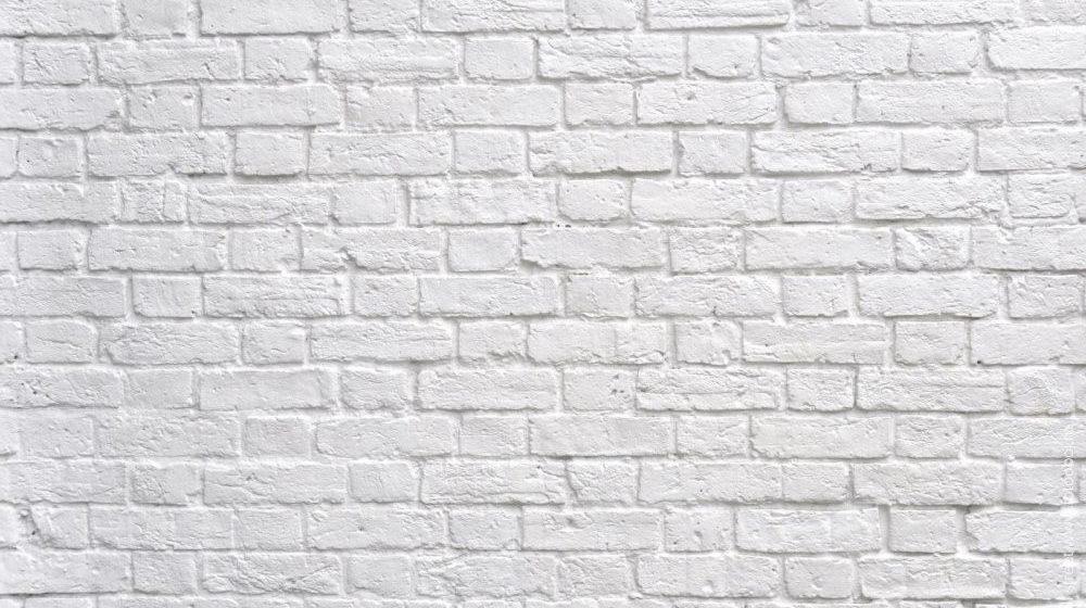 Декоративный белый кирпич
