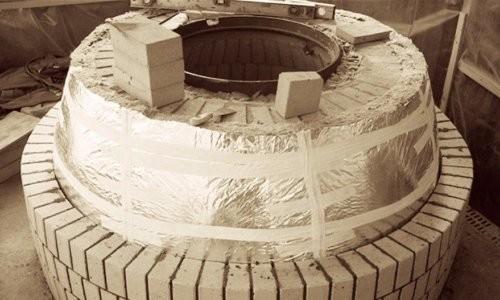 Строительство тандыра из кирпича