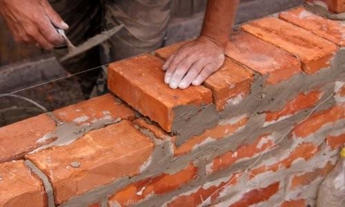 Строительство с применением полнотелого кирпича
