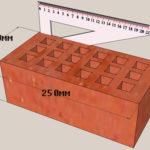 Размеры полуторного кирпича